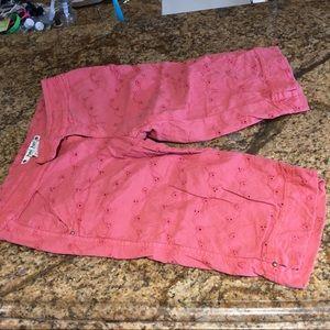 Pants - 2 Anthropologie walking shorts size 2